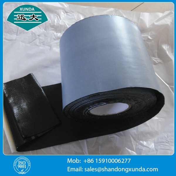 1.1mm Thickness Corrosion Resistant Tape Polypropylene Fiber Woven Tape For Pipe Protection