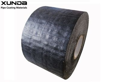 China 1.1mm Thickness Corrosion Resistant Tape Polypropylene Fiber Woven Tape For Pipe Protection supplier